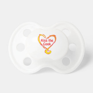 KISS THE COOK BooginHead PACIFIER