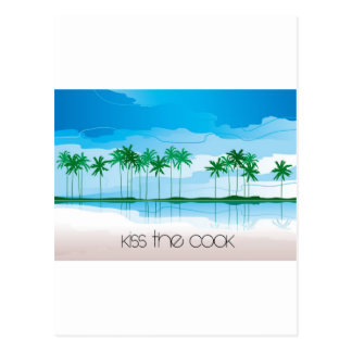 Kiss the Cook! Postcard