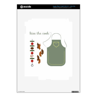 Kiss The Cook Skins For iPad 3