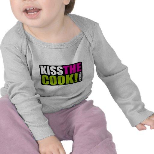 Kiss The Cook Tee Shirt