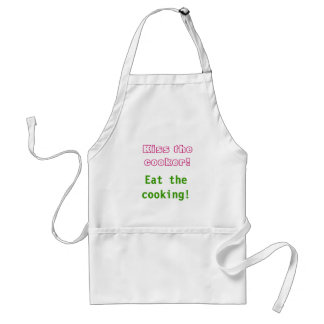 Kiss the cooker Eat the cooking Apron