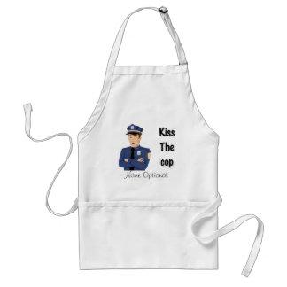 Kiss The Cop apron