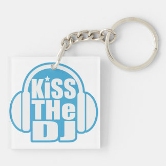 Kiss the DJ Keychain
