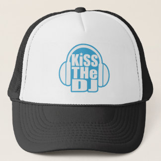 Kiss the DJ Trucker Hat