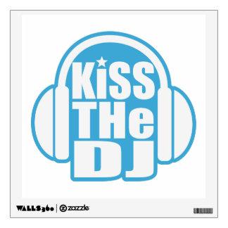 Kiss the DJ Wall Sticker