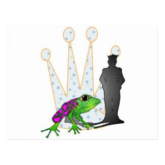 Kiss the Frog Postcard