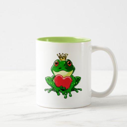 Kiss the Frog Prince Mug