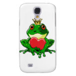 Kiss the Frog Prince Samsung Galaxy S4 Covers
