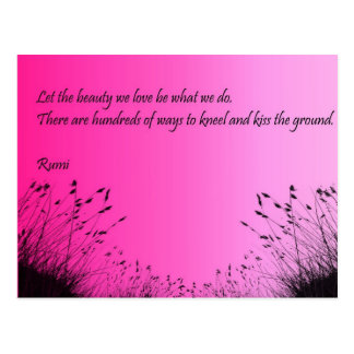 Kiss The Ground Post Card