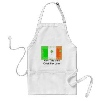 Kiss the Irish Cook Adult Apron