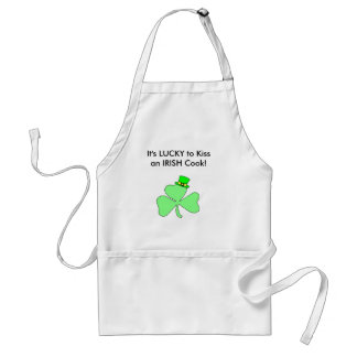Kiss the Irish Cook apron
