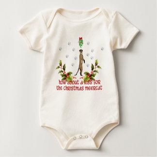 Kiss the Meerkat Baby Bodysuit