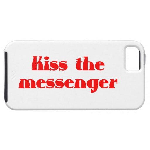 Kiss the messenger iPhone 5 funda