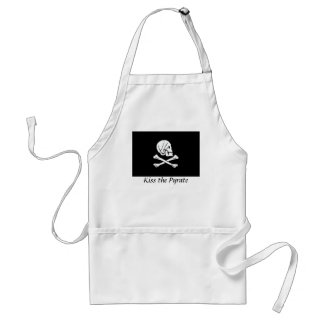 Kiss the Pyrate Apron- Henry Every Adult Apron