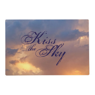 Kiss the Sky, Placemats Laminated Placemat
