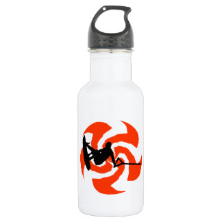 KISS THE SUN STAINLESS STEEL WATER BOTTLE