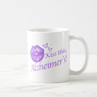 Kiss This Alzheimer's! Coffee Mug