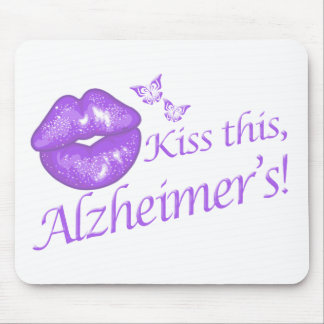 Kiss This Alzheimer's! Mouse Pad