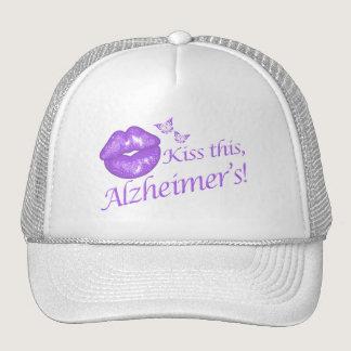 Kiss This Alzheimer's! Trucker Hat