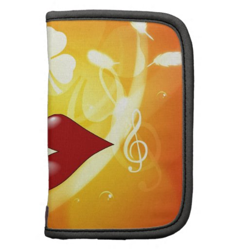 Kiss you love you with  peace joy organizer