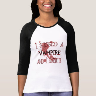 kissed a vampire shirt