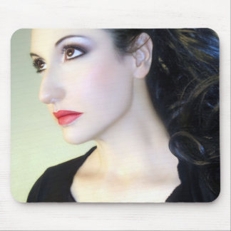 Kissed by the Light - Self Portrait Mouse Pads