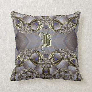 Kissen ``Barock Blossom Letter´´ Throw Pillow