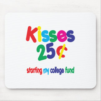 KISSES 25 Cents ... College Fund Mouse Pad