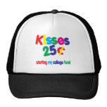 KISSES 25 Cents ... College Fund Trucker Hats