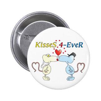 """""""KisseS 4-Ever rats"""" Button"""