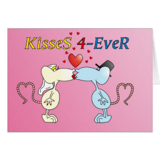 """""""KisseS 4-Ever rats"""" card"""