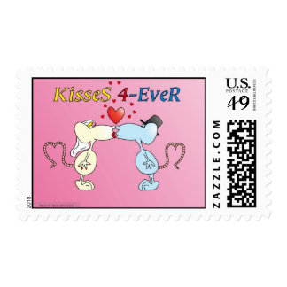 """KisseS 4-Ever rats"" postage"
