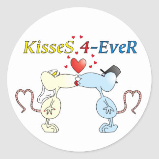 """KisseS 4-Ever rats"" Sticker"