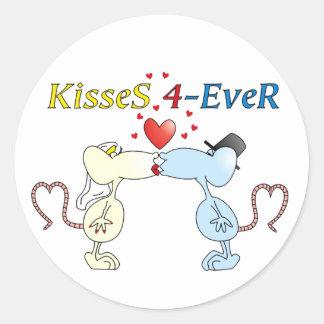 """""""KisseS 4-Ever rats"""" Sticker"""