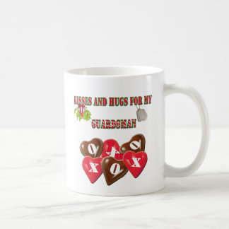 Kisses And Hugs For My Guardsman Coffee Cup Classic White Coffee Mug