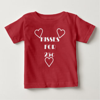 Kisses for 25 cents - Baby Fine Jersey T-Shirt Baby T-Shirt