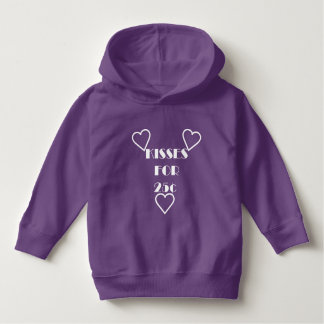 Kisses for 25 cents - Toddler Pullover Hoodie