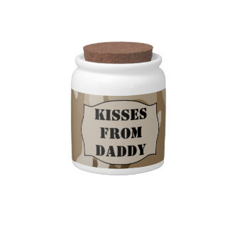 Kisses From Daddy Jar (Desert Camo) Countdown