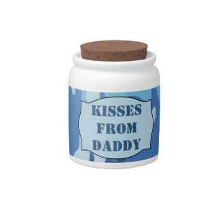 Kisses From Daddy Jar (Ice Camo) - Countdown