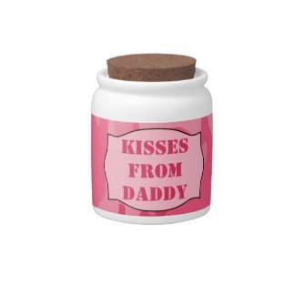 Kisses From Daddy Jar (Princess Camo) - Countdown