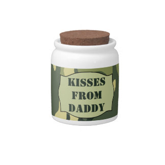 Kisses From Daddy Jar (Swamp Camo) - Countdown