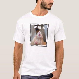 Kisses from Marty Postage Stamp T-Shirt