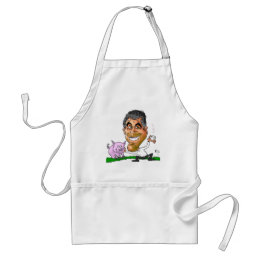 Kisses from Usa GEORGE Adult Apron