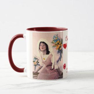 Kisses & Hearts Gift Mug