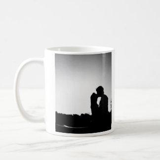 Kisses in the Shadows Coffee Mug