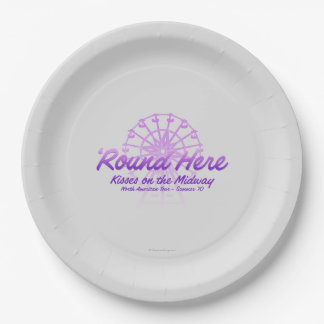 Kisses On The Midway Paper Plate