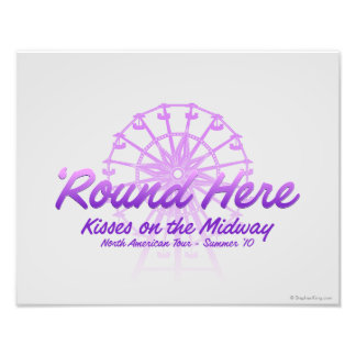Kisses On The Midway Photo Print