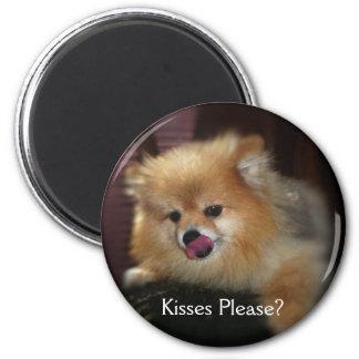 Kisses Please? Magnet
