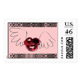 KISSES POSTAGE stamp