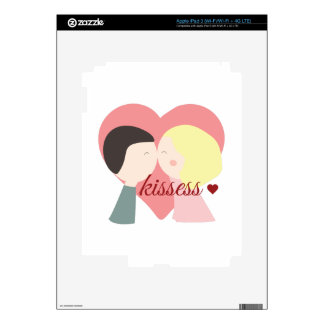 Kisses Decals For iPad 3